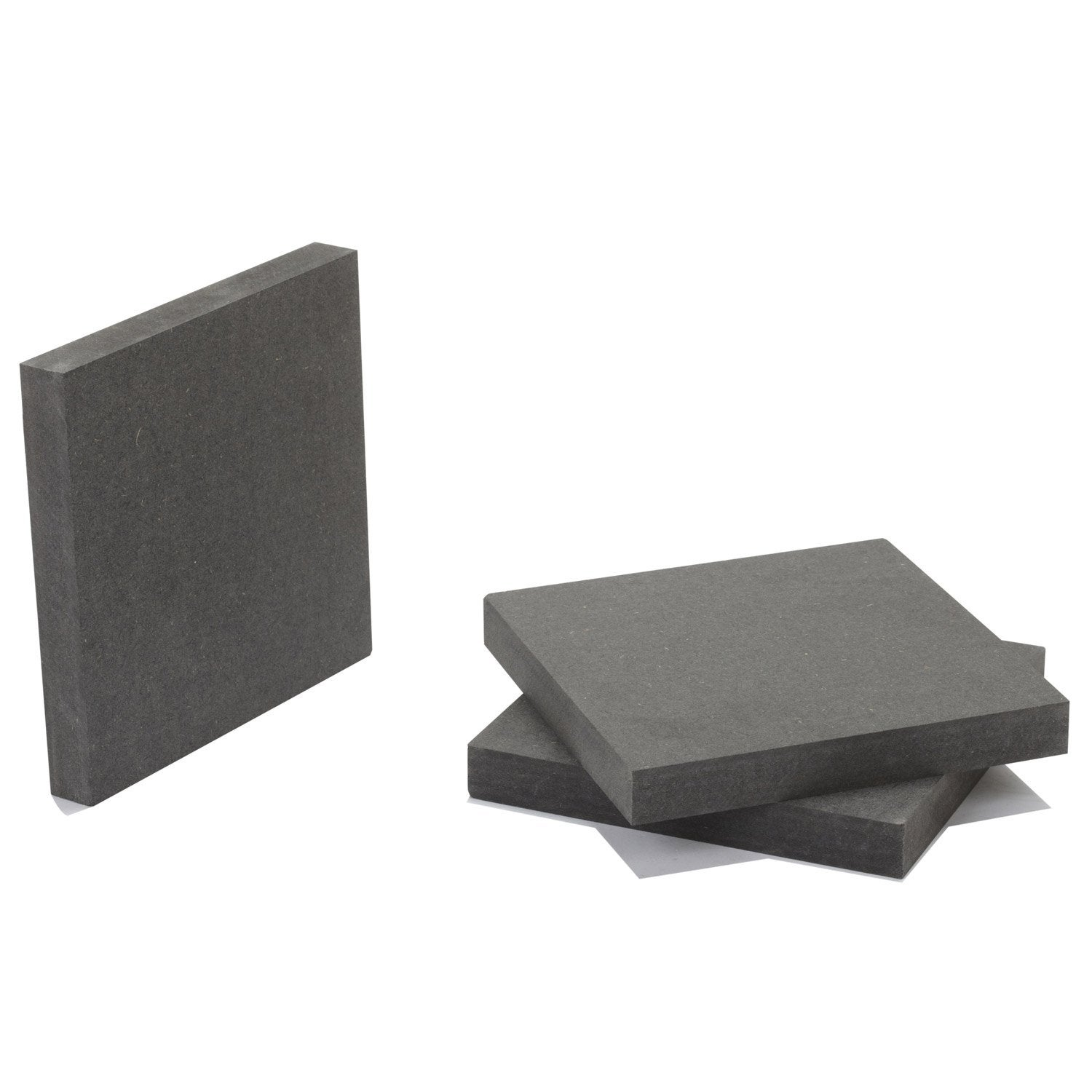 Pr d coup m dium mdf anthracite valchromat for Leroy merlin tableros mdf