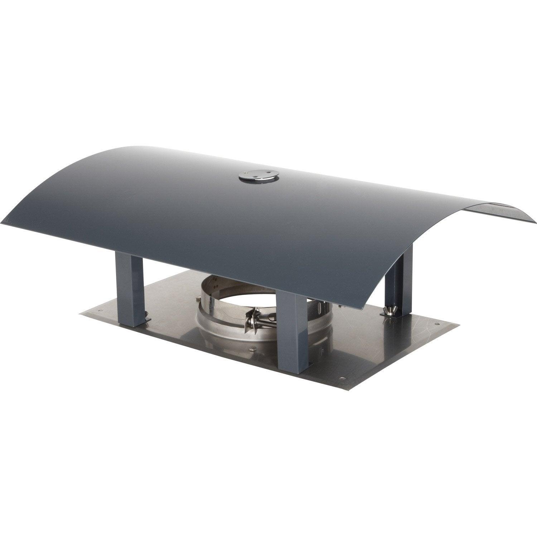 chapeau pare pluie simple atelier dixneuf 126 mm leroy merlin. Black Bedroom Furniture Sets. Home Design Ideas