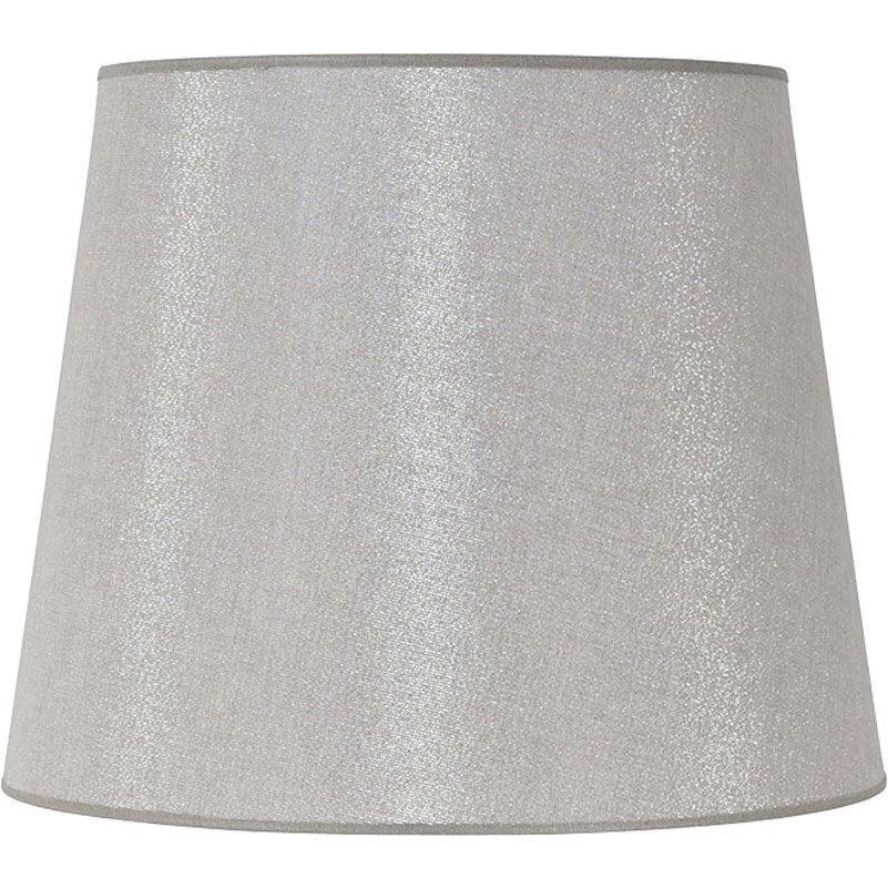 abat jour conique 45 cm 50 coton 50 polyester shine. Black Bedroom Furniture Sets. Home Design Ideas