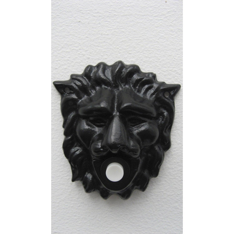 Plaque T Te De Lion En Fer Leroy Merlin