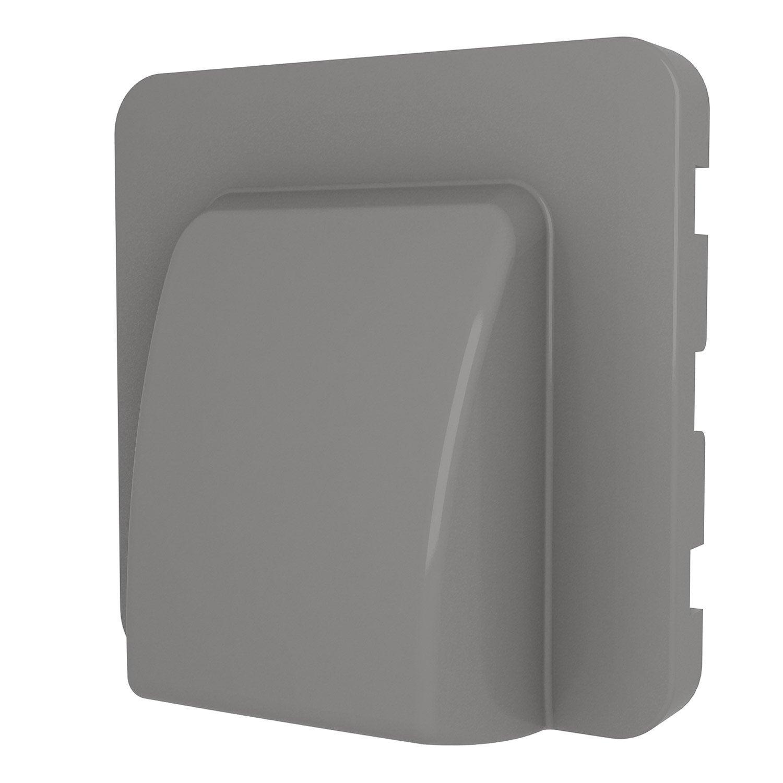 cache sortie de c ble cosy lexman gris galet n 3 leroy merlin. Black Bedroom Furniture Sets. Home Design Ideas
