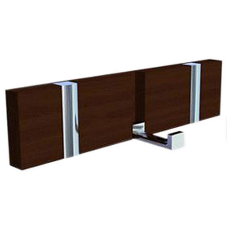 porte manteau visser 3 t tes leroy merlin. Black Bedroom Furniture Sets. Home Design Ideas