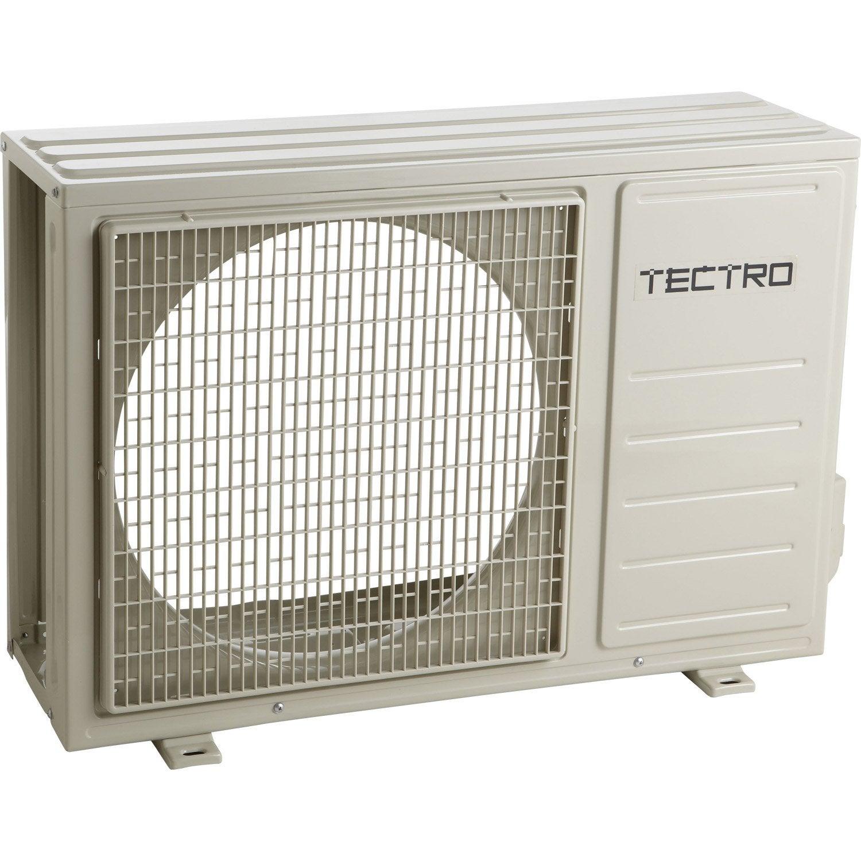Climatiseur fixe pack monosplit tectro ts431 3300w leroy merlin - Climatiseur leroy merlin ...