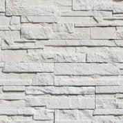 Plaquette de parement béton blanc Askja