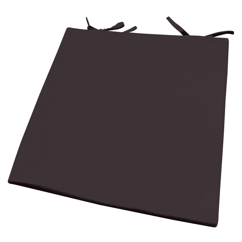 galette de chaise su de inspire brun chocolat n 1 x h 2 5 cm leroy merlin. Black Bedroom Furniture Sets. Home Design Ideas