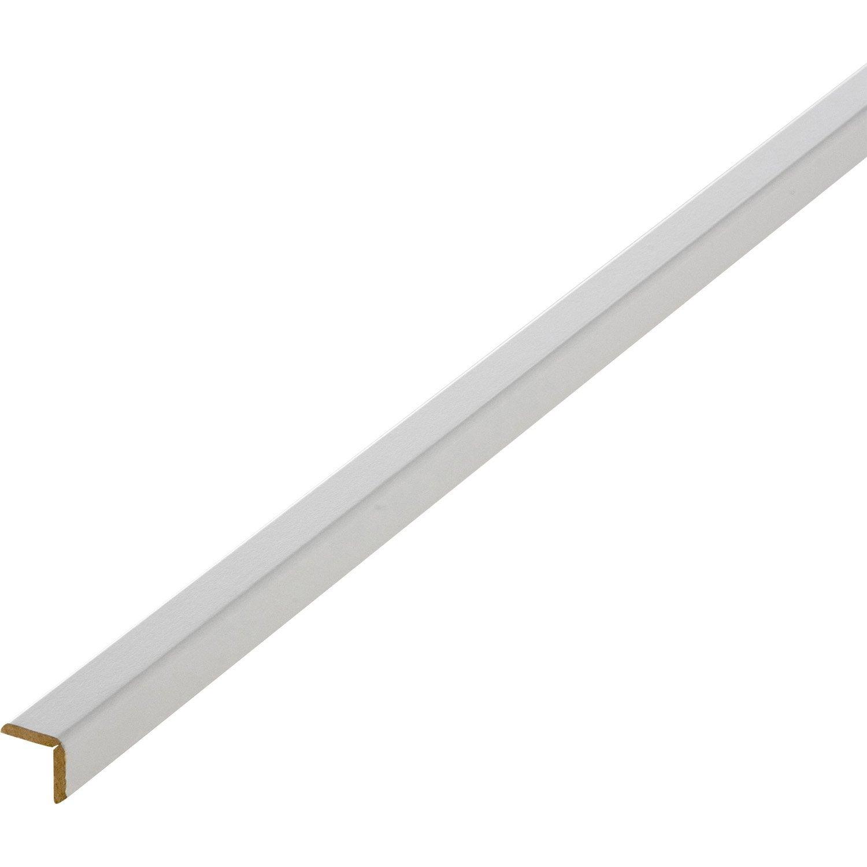 baguette d 39 angle m dium mdf gris galet 5 20 x 20 mm l 2 4 m leroy merlin. Black Bedroom Furniture Sets. Home Design Ideas