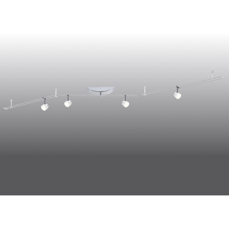 kit rail led 4 paulmann leroy merlin. Black Bedroom Furniture Sets. Home Design Ideas