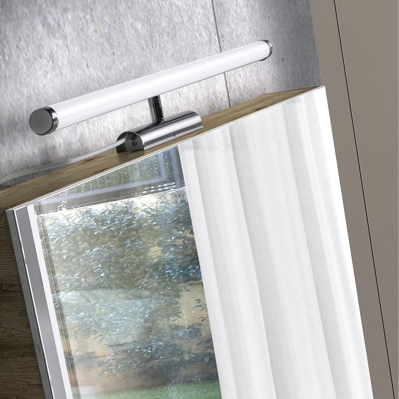 applique simplis led 1 x 10 w led int gr e blanc froid leroy merlin. Black Bedroom Furniture Sets. Home Design Ideas
