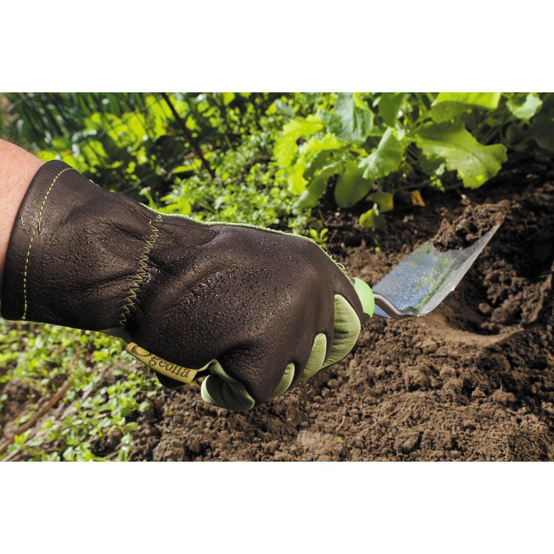 gants de jardinage en cuir geolia taille 9 l leroy merlin. Black Bedroom Furniture Sets. Home Design Ideas
