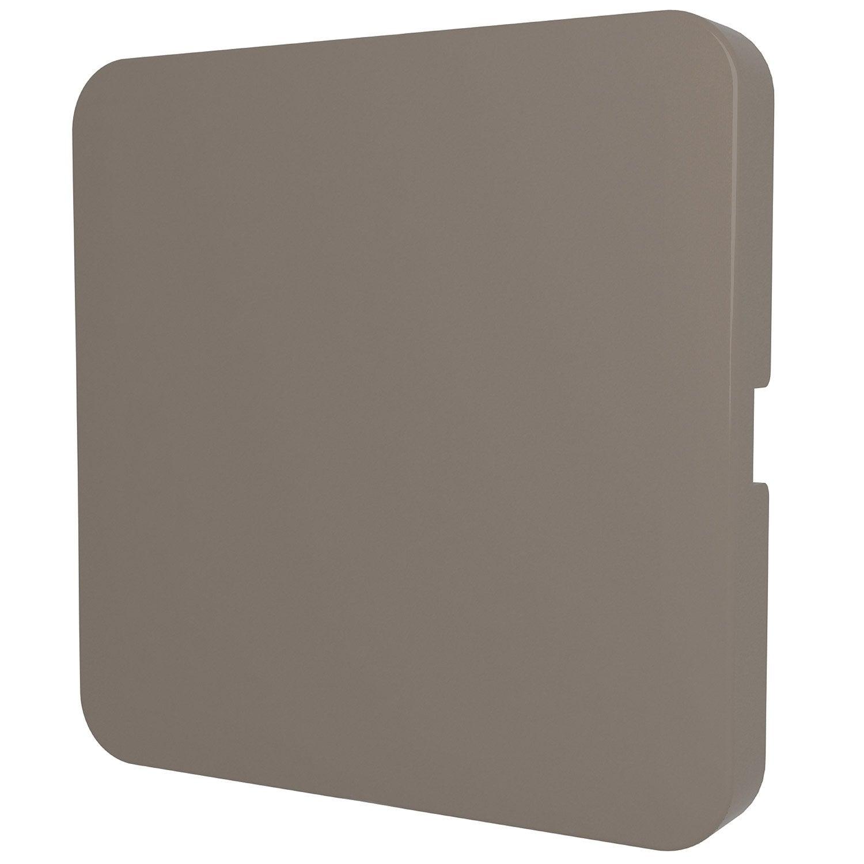 cache obturateur cosy lexman brun taupe n 3 mat leroy merlin. Black Bedroom Furniture Sets. Home Design Ideas