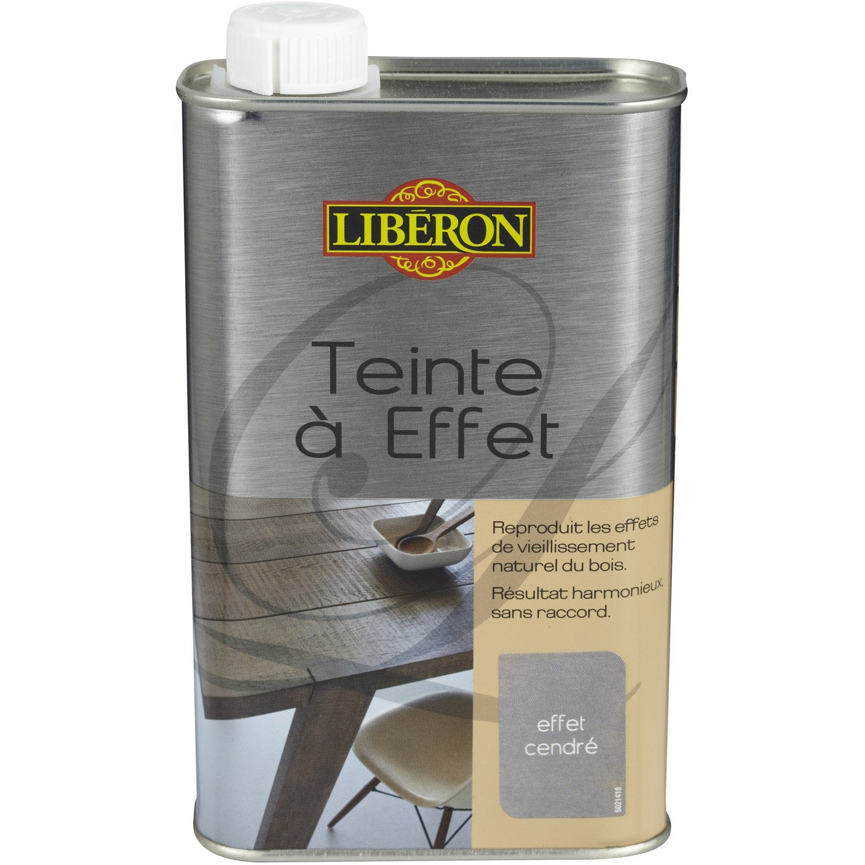 Teinte Effet Liberon 0 5 L Effet Cendr Leroy Merlin
