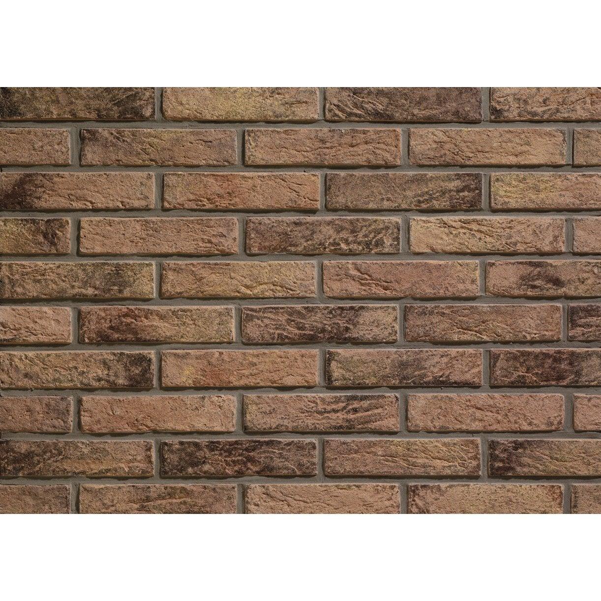 Plaquette de parement bruy re en b ton brun leroy merlin - Plaque beton leroy merlin ...
