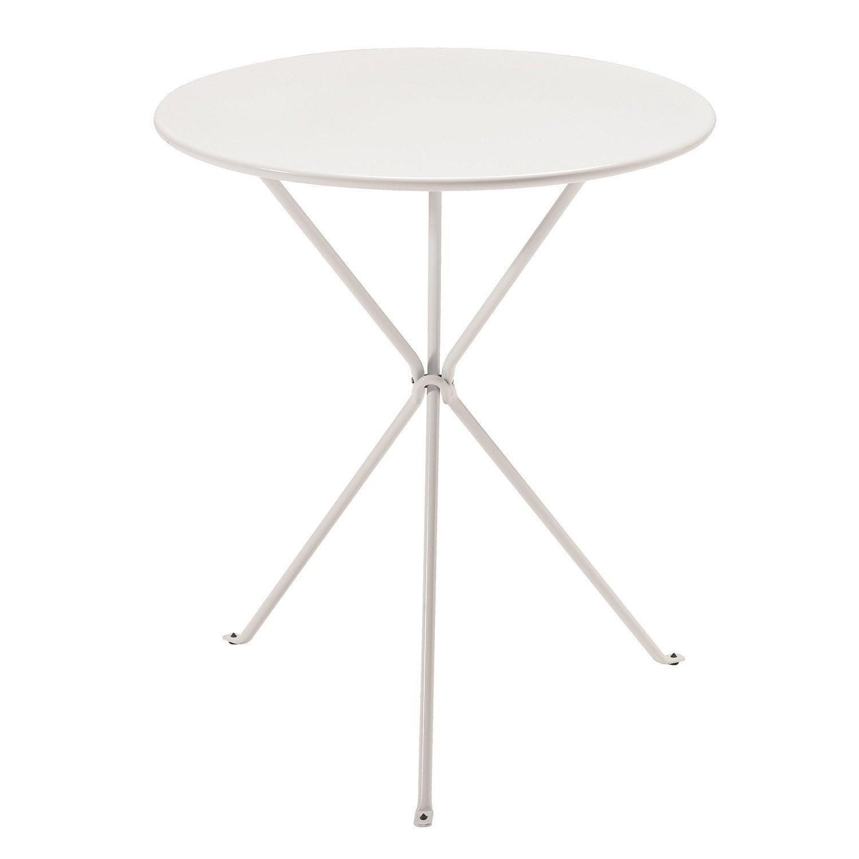 Table De Jardin Ronde Gueridon Oasi By Emu Leroy Merlin