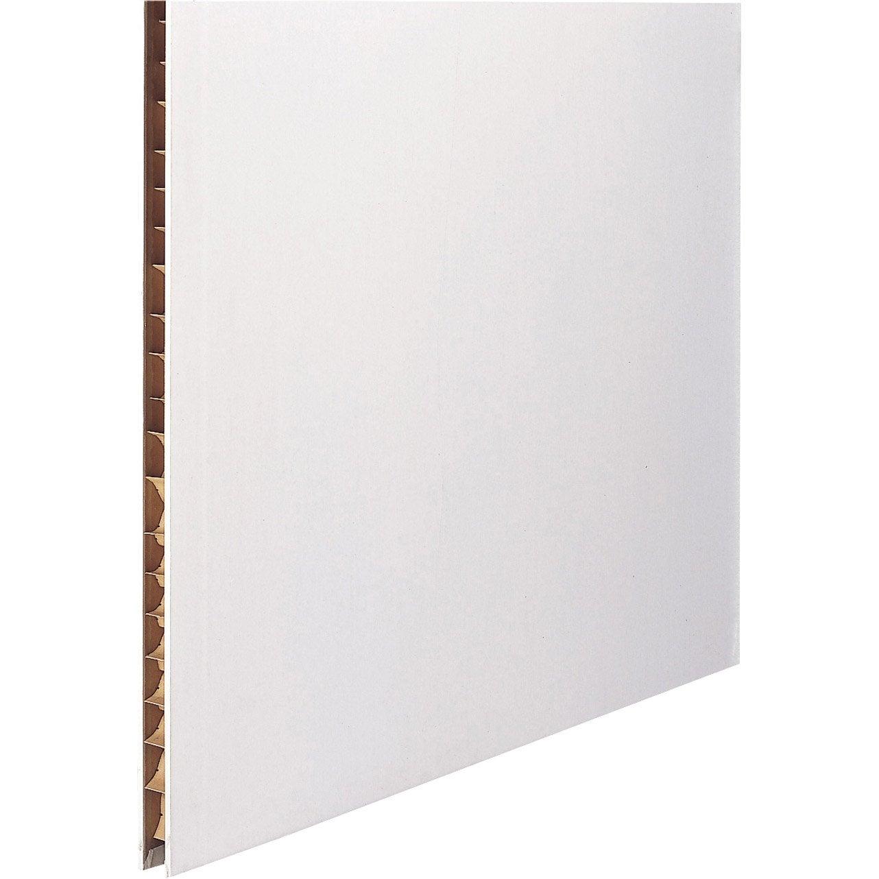 Cloison Bois Alvéolaire - Cloison alvéolaire CE 2 5 x 0 6 m, Ep 5 cm Leroy Merlin