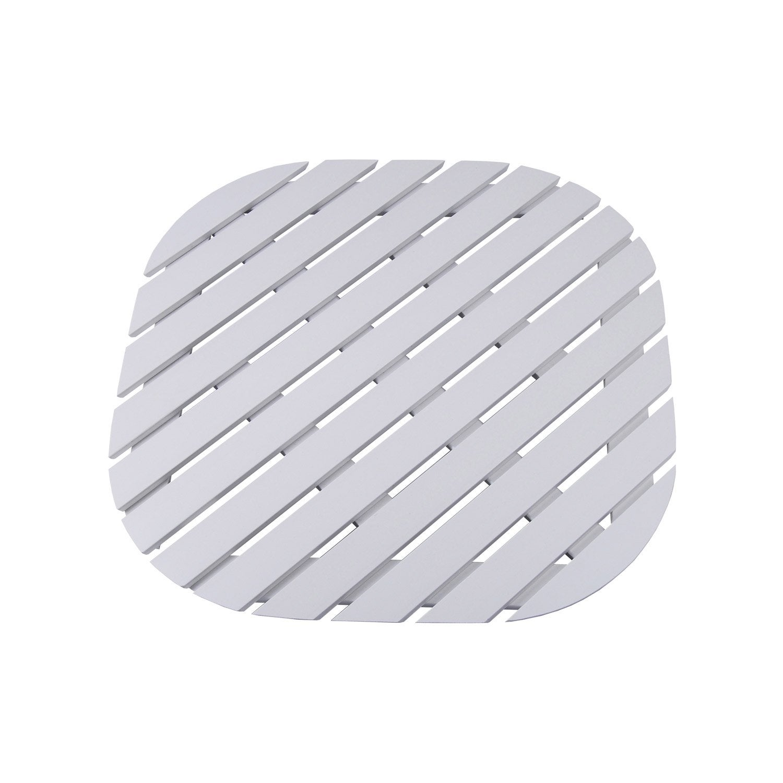 caillebotis remix carr 80x80 cm blanc blanc n 0 leroy merlin. Black Bedroom Furniture Sets. Home Design Ideas