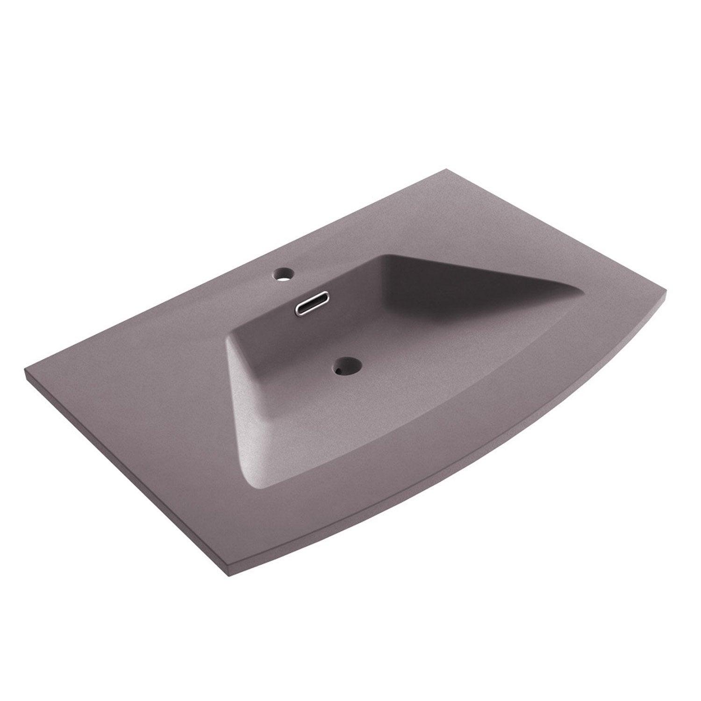 Plan simple vasque fairway resine de synthese imitation for Magasin leroy merlin plan de campagne