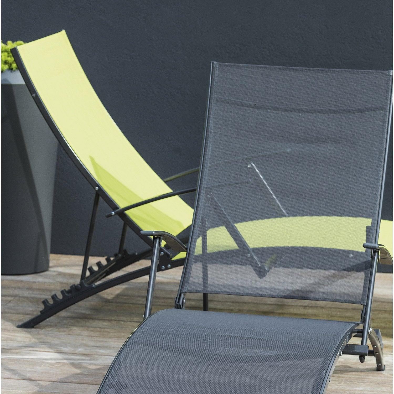 bain de soleil de jardin lagon vert ou. Black Bedroom Furniture Sets. Home Design Ideas