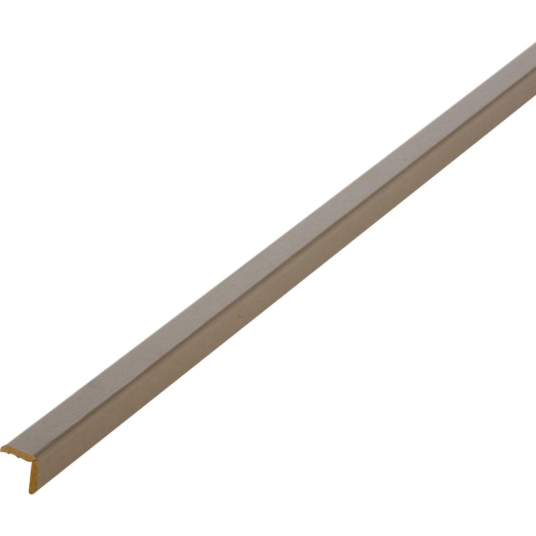 baguette d 39 angle m dium mdf 20 x 20 mm leroy merlin. Black Bedroom Furniture Sets. Home Design Ideas