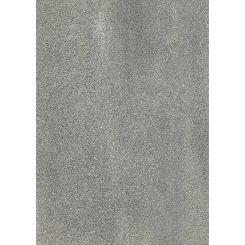 Chant de plan de travail ciment 500 x 4 5 cm leroy merlin for Plan de travail ciment
