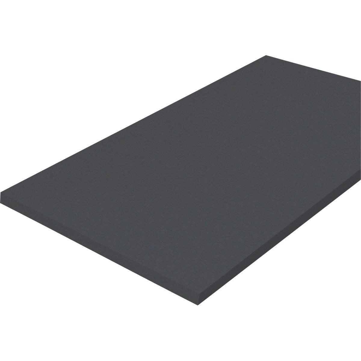 Plateau de table m lamin laqu 120 x 80 cm 18 mm for Plateau de table rond 120 cm