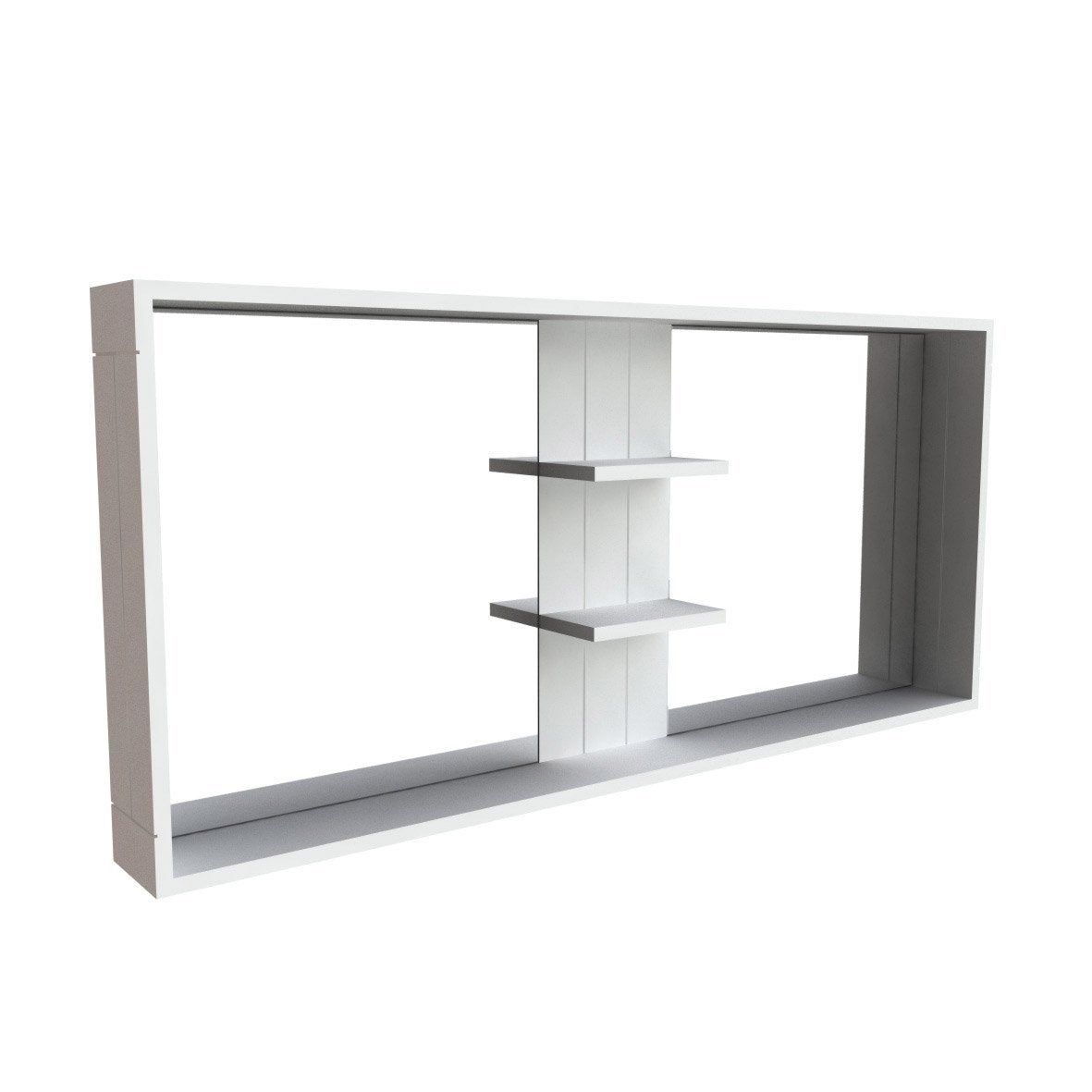 Accroche miroir leroy merlin maison design for Miroir long noir