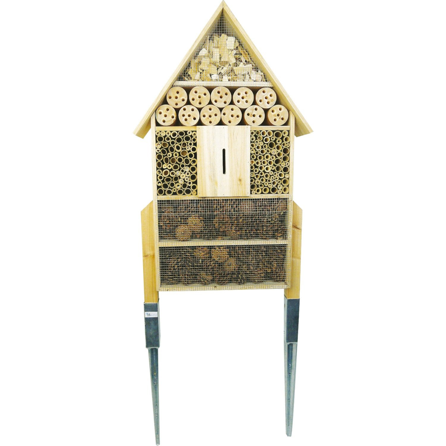 H tel insectes pfchigf130 bois leroy merlin for Hotel a insecte acheter
