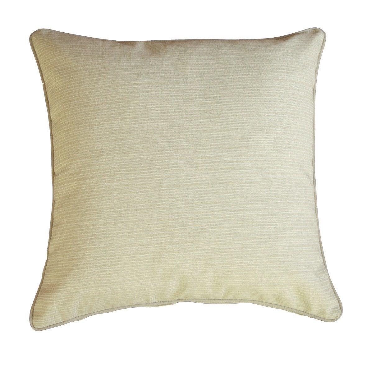 coussin stripes gris clair x cm leroy merlin. Black Bedroom Furniture Sets. Home Design Ideas