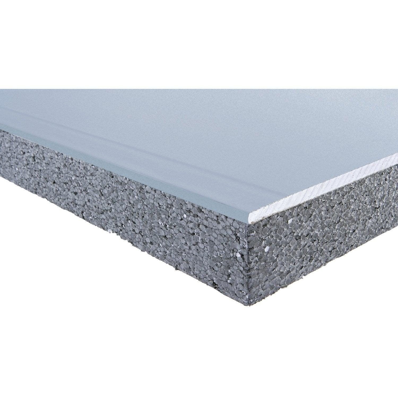 doublage acoust en polystyr ne expans th32 siniat 2 5 ep13 100mm r leroy merlin. Black Bedroom Furniture Sets. Home Design Ideas