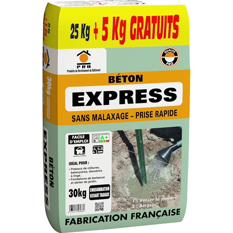 B ton prise rapide prb 30 0 kg leroy merlin - Livraison beton leroy merlin ...
