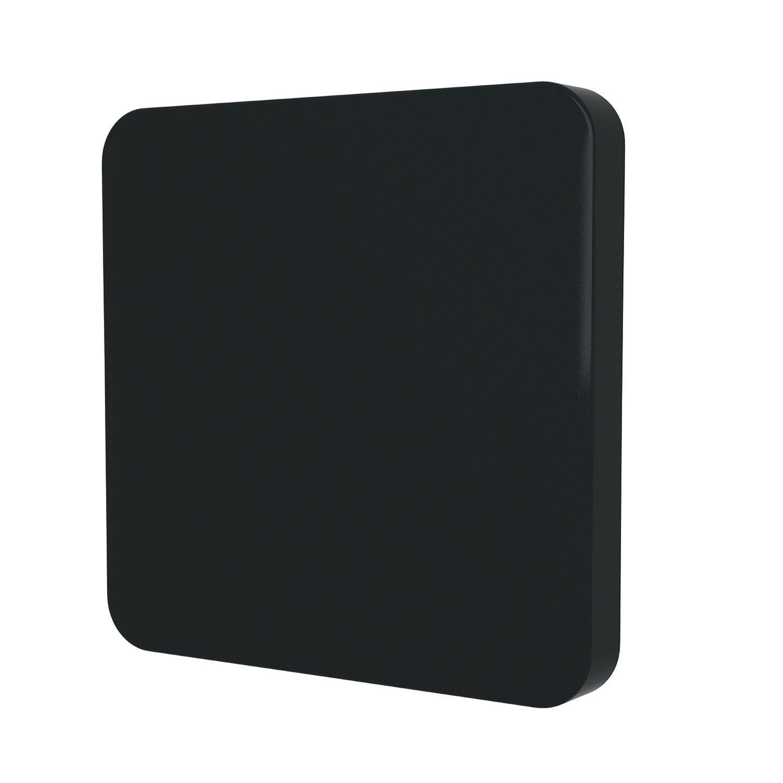 cache commande d 39 clairage cosy lexman noir noir n 0 leroy merlin. Black Bedroom Furniture Sets. Home Design Ideas