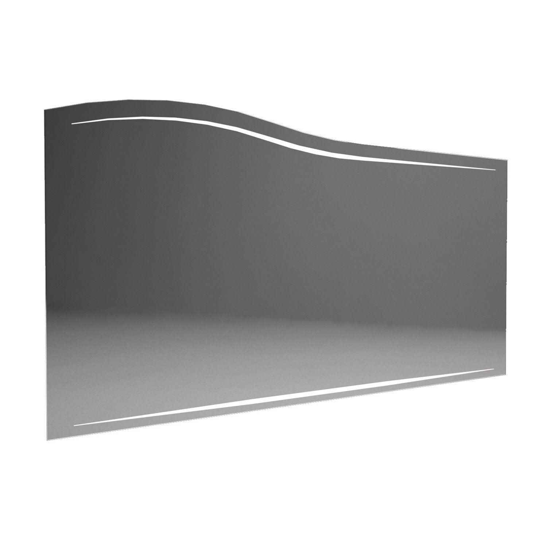miroir avec eclairage integre l 130 cm decotec elegance Résultat Supérieur 17 Beau Miroir Prise Integree Photographie 2017 Kjs7
