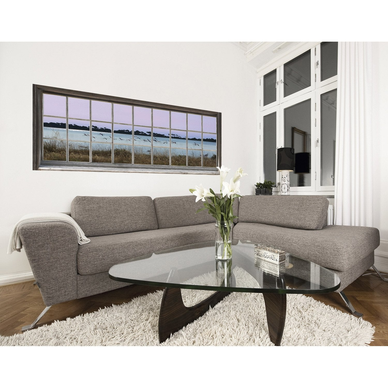 sticker trompe l 39 oeil flamands 150 cm x 60 cm leroy merlin. Black Bedroom Furniture Sets. Home Design Ideas