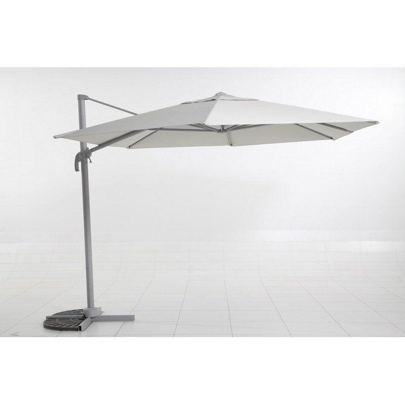 Parasol excentr gris 12 m leroy merlin - Rode leroy merlin parasol ...