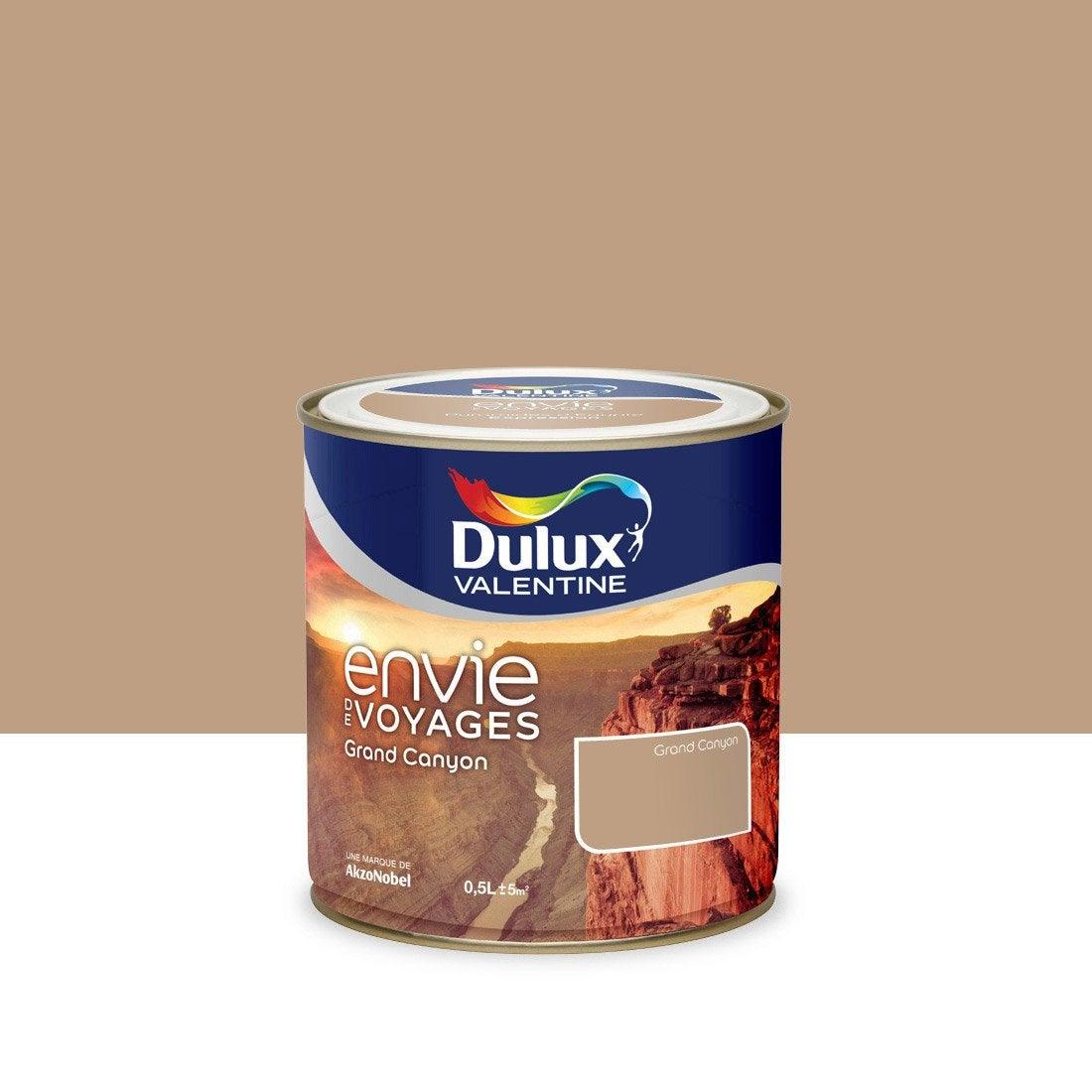 Dulux valentine peinture murs et boiseries blanc cass for Peinture mur blanc satin