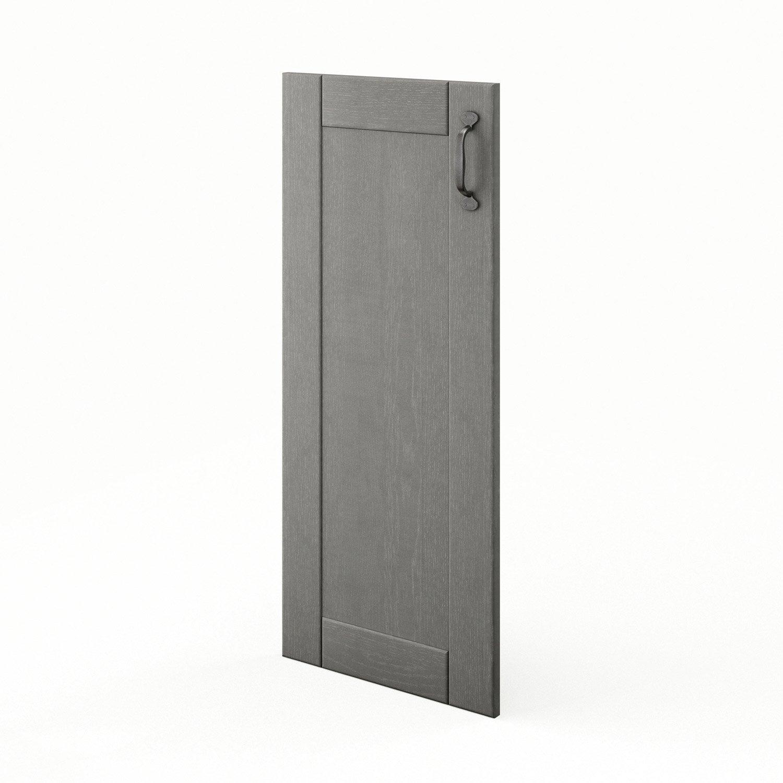 porte de cuisine gris f40 92 nuage l40 x h92 cm leroy. Black Bedroom Furniture Sets. Home Design Ideas