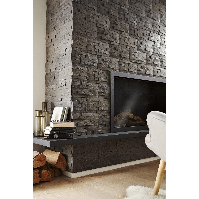 plaquette de parement en b ton decorson m2 leroy merlin. Black Bedroom Furniture Sets. Home Design Ideas