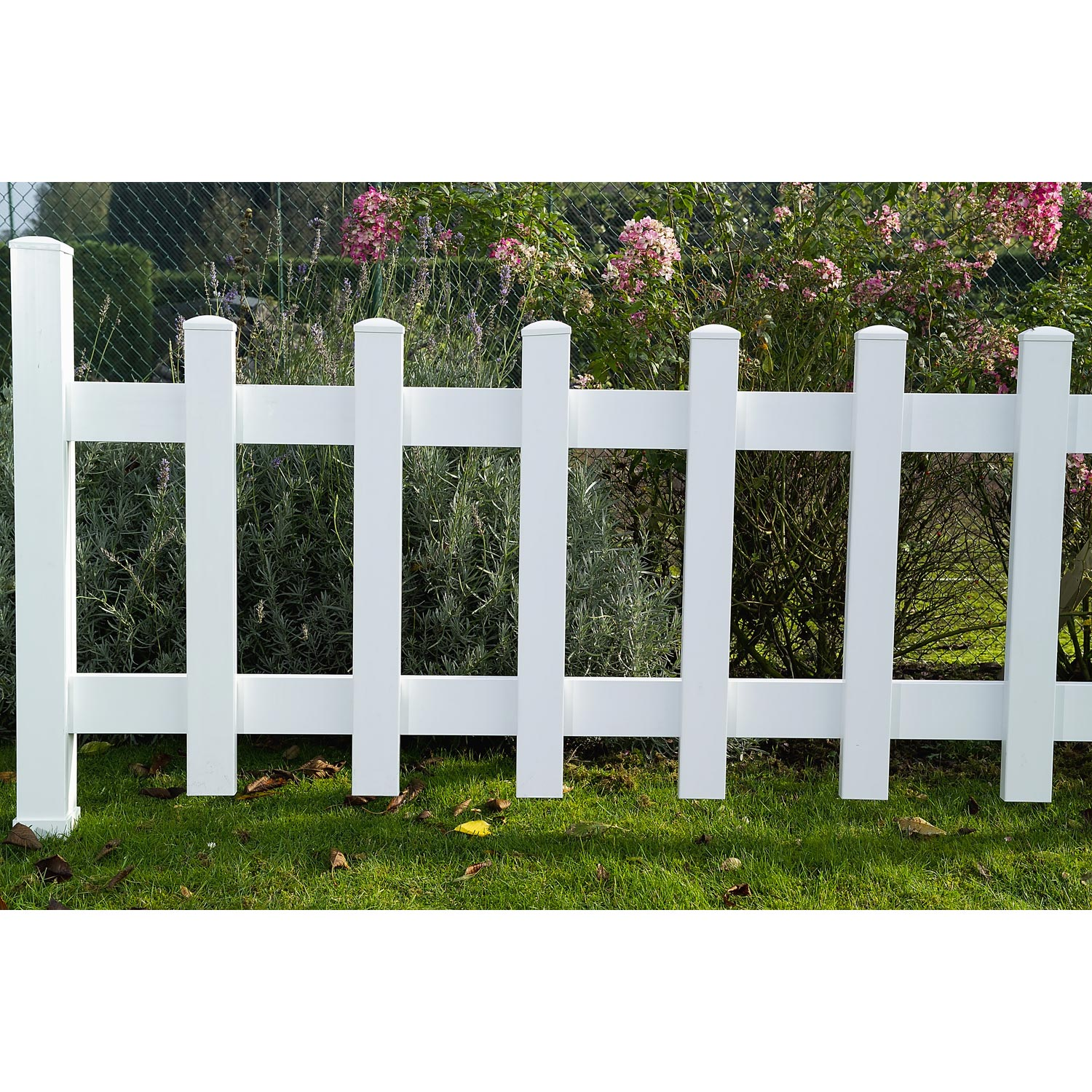 Balustre pour cl ture de 80 cm leroy merlin for Grillage et portillon de jardin