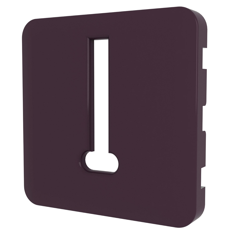cache prise t l phone cosy lexman violet aubergine n 1 mat leroy merlin. Black Bedroom Furniture Sets. Home Design Ideas