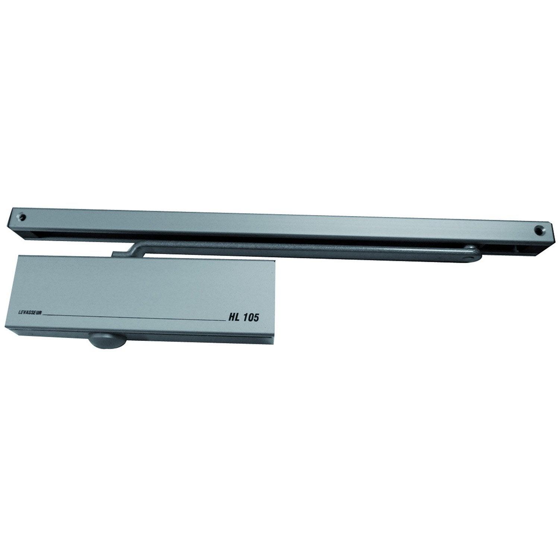 Ferme porte coulisses levasseur aluminium anodis - Ferme porte a coulisse ...