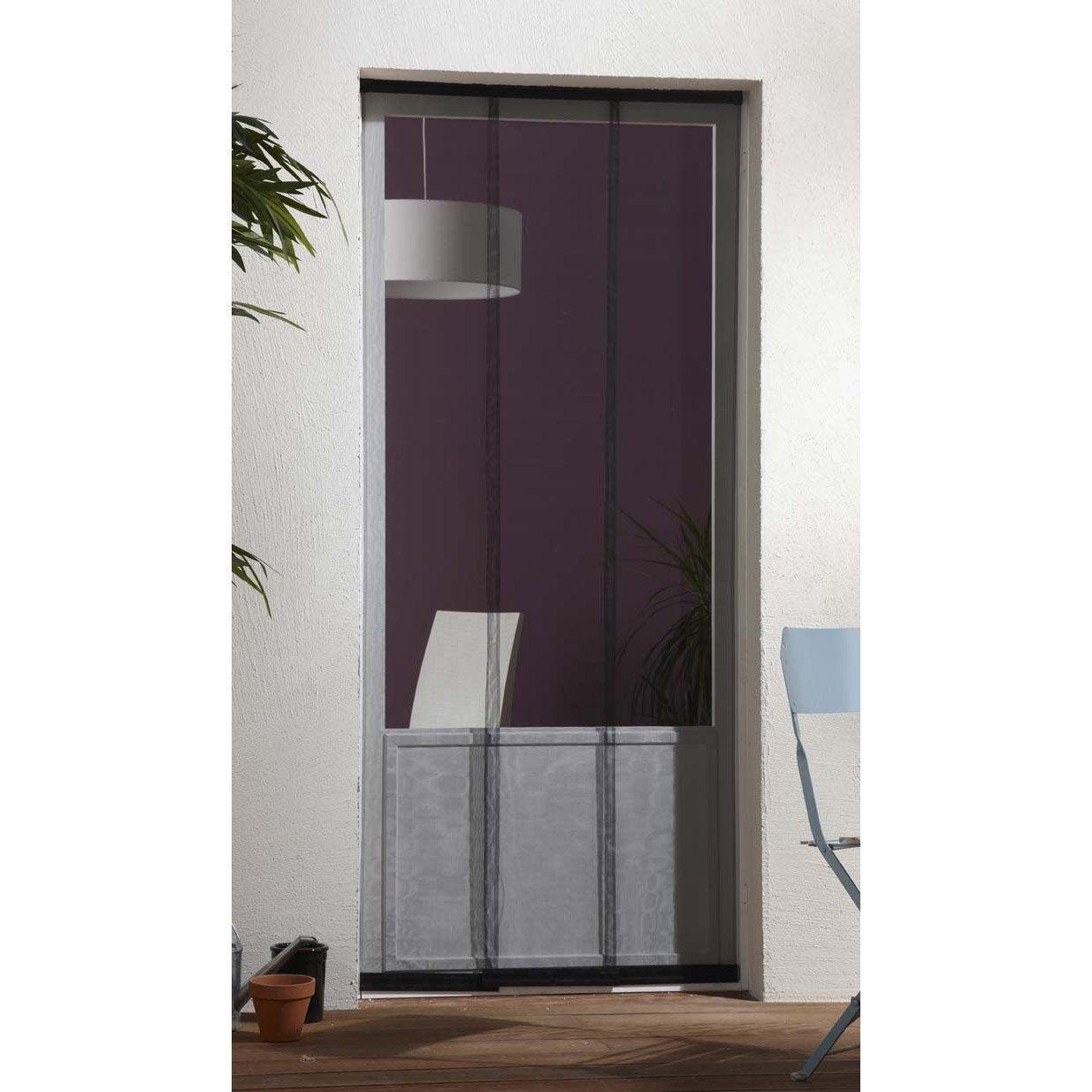 moustiquaire pour porte rideau artens x cm. Black Bedroom Furniture Sets. Home Design Ideas