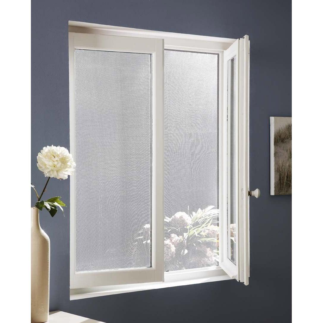 Moustiquaire pour fenêtre avec fixation auto-agrippante ARTENS H.180 x l.150 cm | Leroy Merlin