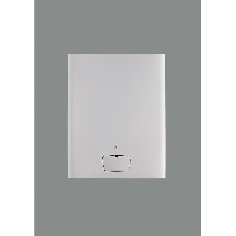 chaudi re gaz condensation accumul e saunier duval isotwin f24 30e v leroy merlin. Black Bedroom Furniture Sets. Home Design Ideas