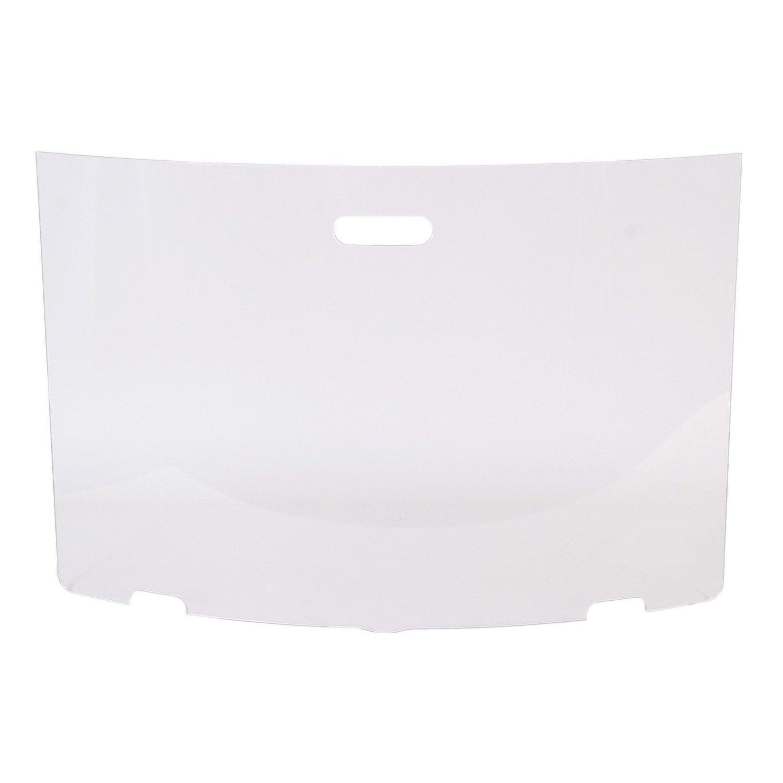 pare feu en verre tremp blanc lemarquier pfz09020 1 volet x cm leroy merlin. Black Bedroom Furniture Sets. Home Design Ideas