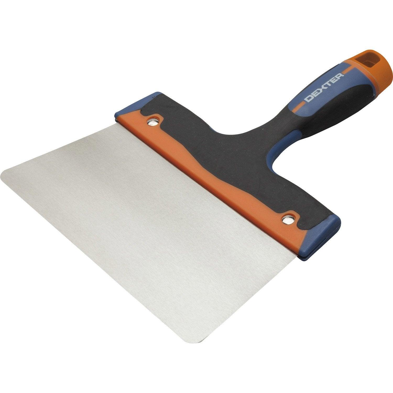 Couteau enduire acier inoxydable 20 cm leroy merlin - Couteau a enduire leroy merlin ...