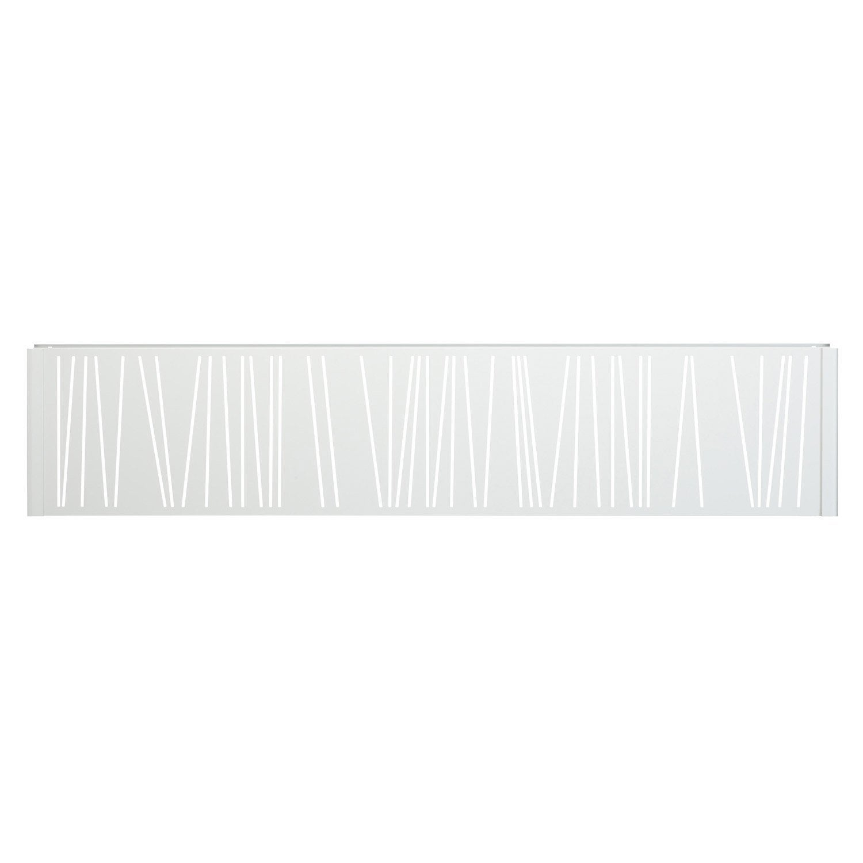panneau d coratif lookx gris leroy merlin. Black Bedroom Furniture Sets. Home Design Ideas
