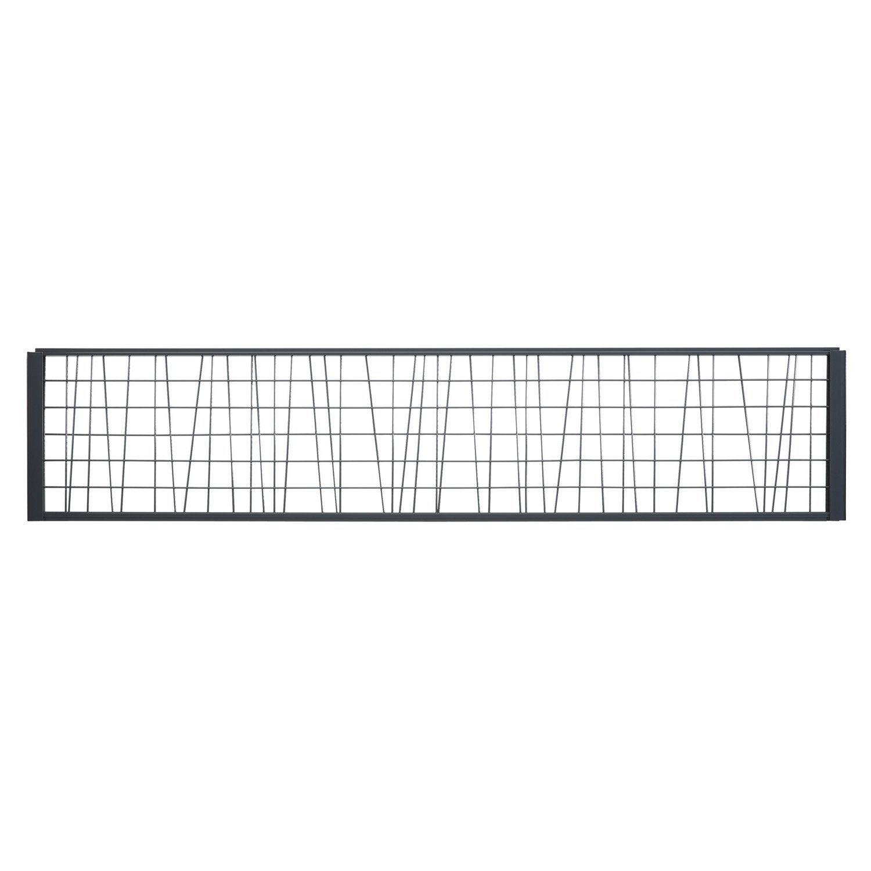 treillis gris anthracite h 0 4 x l 1 8 m leroy merlin. Black Bedroom Furniture Sets. Home Design Ideas