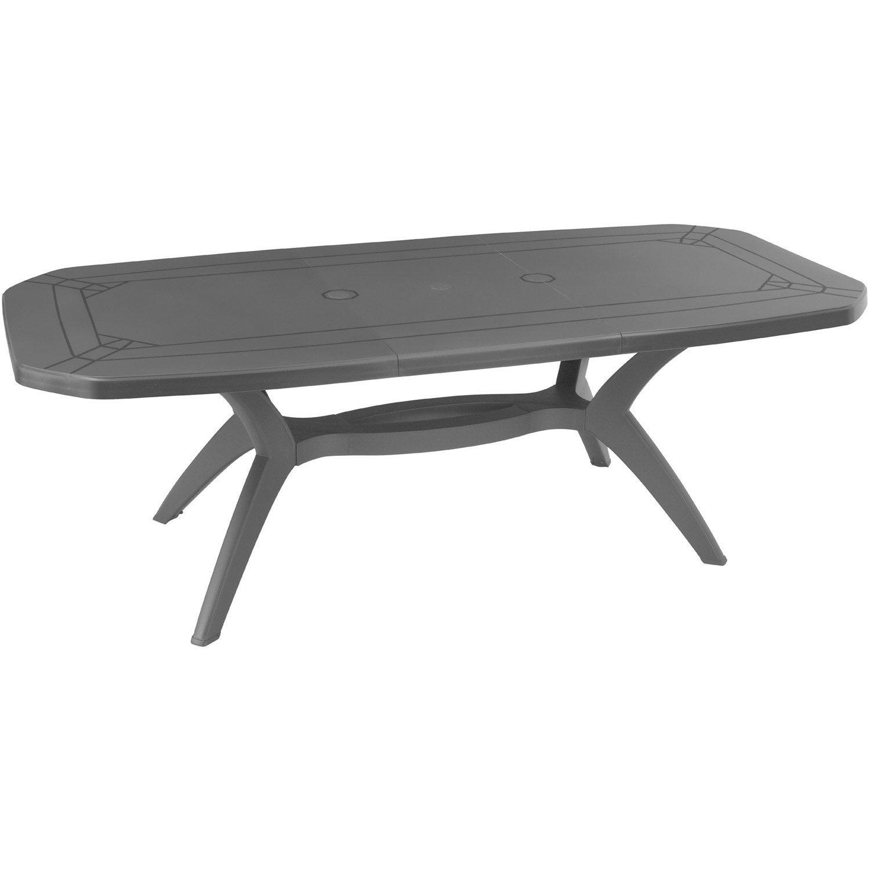 Déco Table De Jardin Ibiza Grosfillex [Bordeaux 2337] Table De