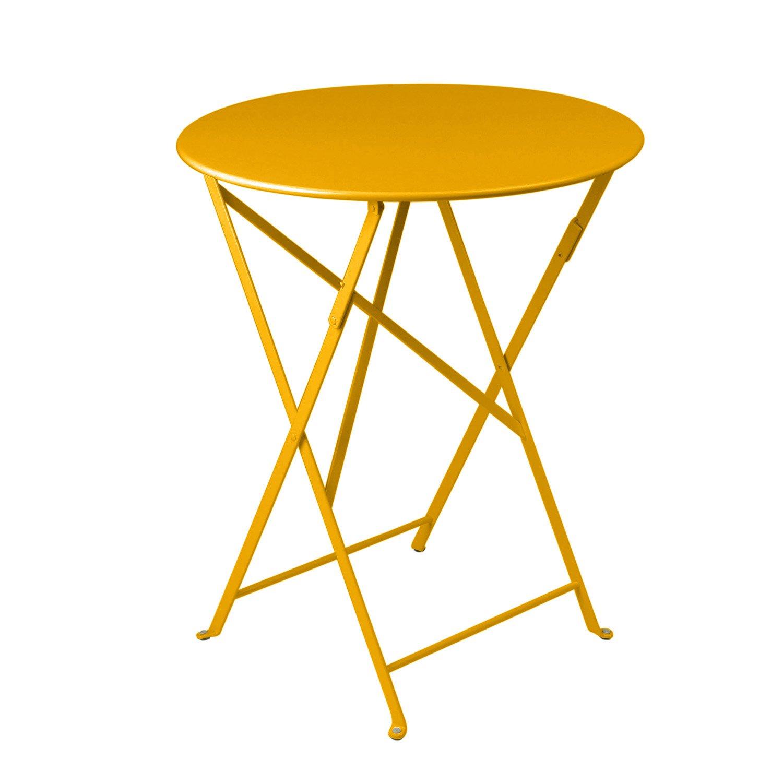 Awesome Table De Jardin Ronde Fermob Contemporary