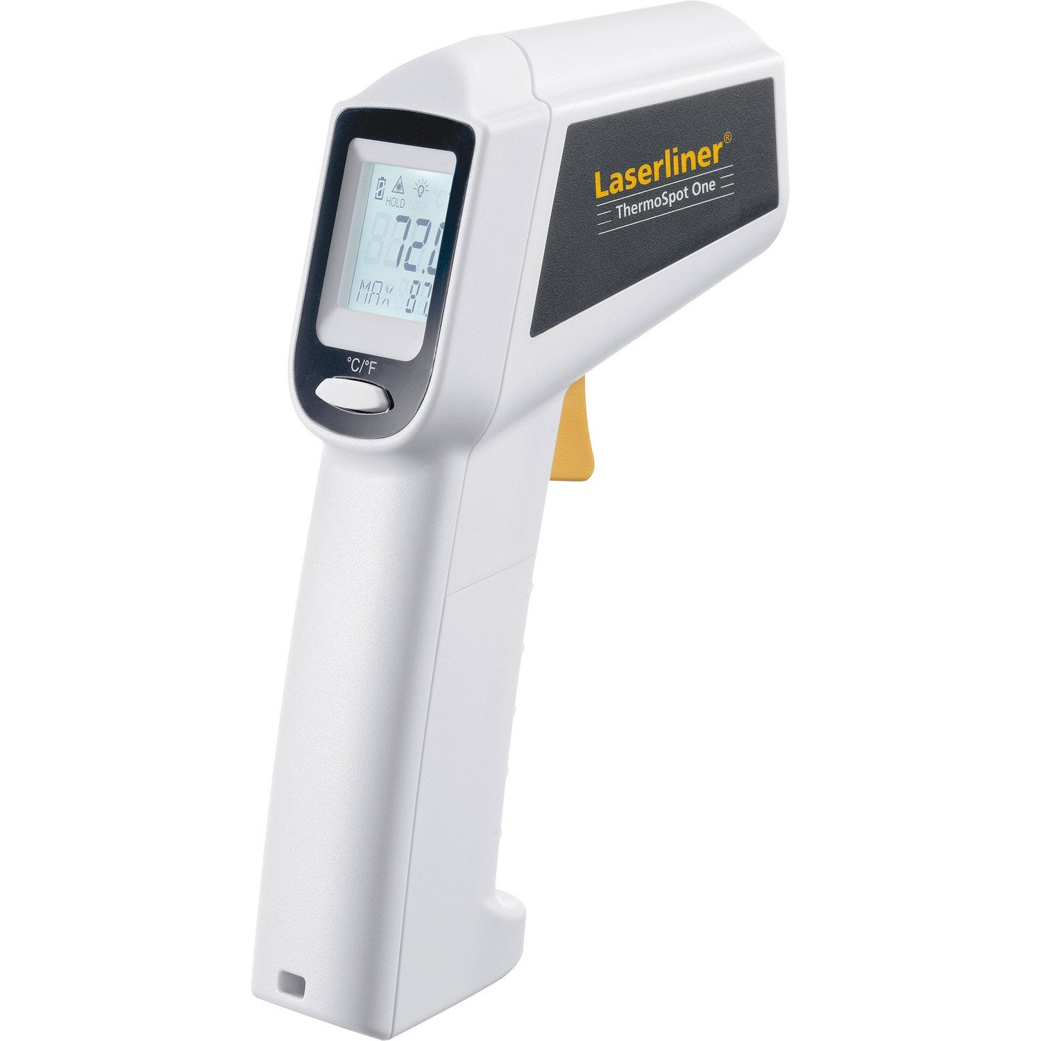 Thermom tre infrarouge laserliner thermospot one leroy merlin - Thermometre piscine connecte ...