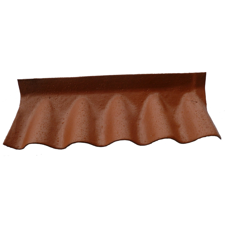 raccord fibrociment de mur fa ti re contre mur pour fibrociment rouge l leroy merlin. Black Bedroom Furniture Sets. Home Design Ideas